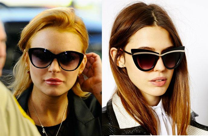 Солнцезащитные очки стрекоза